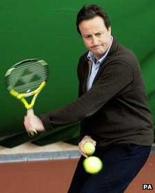 Does David Cameron have an 'inner game'? Source: BBC News