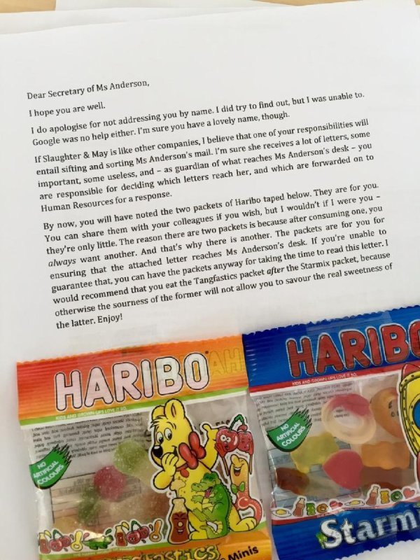 Haribo selling